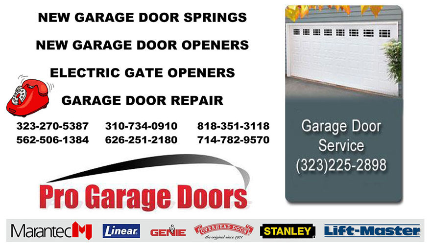 Replace Broken Garage Door Springs Garage Door Repair New Garage